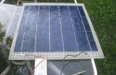 Panel Solar ligero (cargador de batería de 12V)