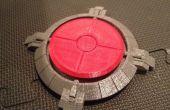 3D impreso botón Super megavatios 1500 Portal (funcional)