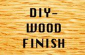 DIY: Cera de abejas y aceite madera acabado experimentos