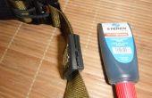Cómo reparar parches de goma de PVC