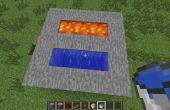 Cómo hacer un simple generador de cobblestone de Minecraft!