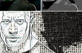 Efectos Grungy con texturas gráficas