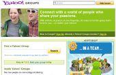 Cómo exportar información de yahoo grupos en formato de excel