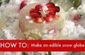 VIDEO DIY: Cómo hacer un globo de nieve comestibles