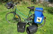 Cómo hacer bolsas de bicicleta rápida - alforjas de bidones usados