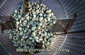Asación del café barbacoa