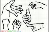 Cómo dibujar Hands70