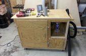 Sistema de colección de polvo portátil con separador de polvo y reducción de ruido usando Shop Vac