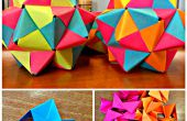 Post-It Origami icosaedro