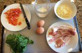Low Carb Real verde huevos y jamón