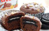 ¿Cómo hacer Nutella de Oreo Brownie Bites