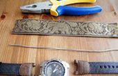 Cómo arreglar su viejo reloj con la venda de reloj incorrecta