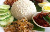 LEMAK del NASI (arroz de leche de coco)