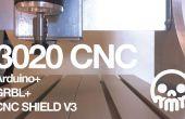 3020 CNC, CNC + Arduino + GRBL escudo V3