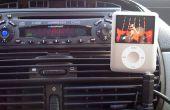 Cómo construir un soporte de coche muy barato para un iPod Nano (3G)