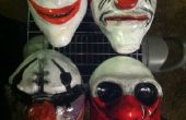 Máscaras de Halloween día de pago