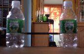 ¿Botella de agua papel del balompié poste