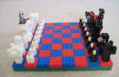Juego de ajedrez de lego impresionante!
