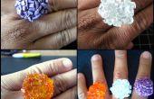 Super fácil anillos de piedra