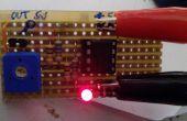 Detector de línea blanca para ROBOT SUMO