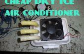 Acondicionador de aire de simple hielo seco
