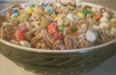 Blanco chocolate snack mix