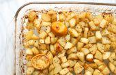 Asado de patatas limón Griego