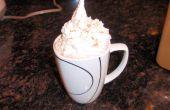 """Chocolate caliente de """"Vía Láctea"""""""