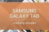 Como leer los IBooks con Samsung Galaxy Tab