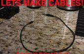 Cables de audio: 3,5 mm 1,4 pulgadas o XLR, XLR y 1/4 de pulgada a mm 3,5