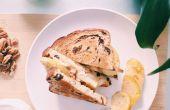 RECETA | QUESO BRIE y manzana SANDWICH