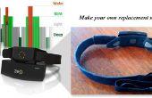DIY reemplazo de Zeo Sleep Monitor diadema Sensor