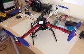 Quadcopter con código de crío AIOP v2 megapirateng