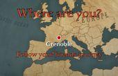 ¿Dónde estás? Seguir a tus amigos con un mapa de diseño