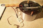 Motorizado de tostador de café de máquina de palomitas de maíz