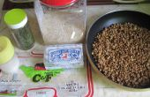 RECETA de arroz y lentejas PILAF