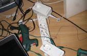 Ethernet sobre líneas teléfono (o lo que sea por cable)