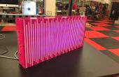 Caja ligera reactiva LED sonido