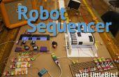 Reproductor de música robótica y secuenciador con LittleBits también conocido como Fruityloops IRL