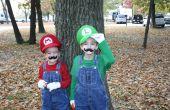 Trajes de Mario Bros con efectos de sonido