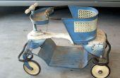 Repintado de una silla de paseo vintage