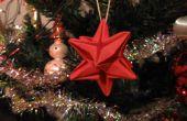 Decoración de Navidad de origami
