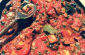 Imam Bayildi (Oriente berenjena y tomate)