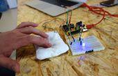 Tecla simple circuito suave