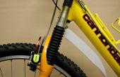Fresco de guardabarros de bicicleta gratis