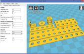 Diseño en 3D y hacer su propia construcción set