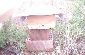Una colmena de abeja emergencia