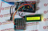 El sistema de Control de velocidad del Motor inalámbrico NRF24L01 con Arduino