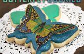 Oblea de papel mariposa Cookies