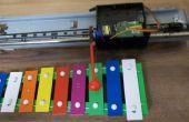 Platillos automáticas de impresora antiguo